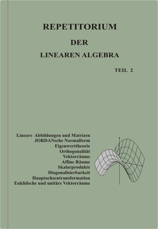 repetitorium der linearen algebra teil 2 binomi verlag. Black Bedroom Furniture Sets. Home Design Ideas